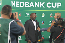 10032018 (Durban) Chiefs Coach Steve Kompela when Kaizer Chiefs will look to advance to the next round of the Nedbank Cup top 16 when hosting Stellenbosch FC at the Moses Mabhida Stadium. Amakhosi went down 3-1 to arch-rivals Orlando Pirates in a tense Soweto derby match last weekend where they lost ground in their league title chase.Picture: Motshwari Mofokeng/African News Agency/ANA