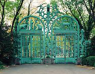 Rainey Memorial Gate, Bronx Zoo, Bronx, NYC, NY