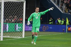 November 14, 2017 - Saint Petersburg, Russia - Of The Russian Federation. Saint-Petersburg. Arena Saint Petersburg, Zenit-arena. Friendly Match. The football world Cup. Team Russia Vs Team Spain. 3:3. Player..Andrey Lunev; Andrey Lunev; (Credit Image: © Russian Look via ZUMA Wire)