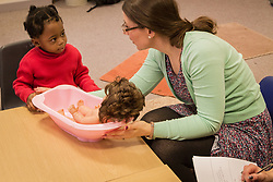 Speech and language therapy with children, Enfield, a service of the Barnet, Enfield & Haringey (NHS) Mental Health Trust. MR