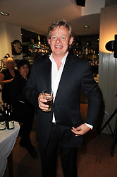 MARTIN CLUNES at a party to celebrate the publication of Born Wild by Tony Fitzjohn at The Arts Club, Dover Street, London on 16th September 2010.