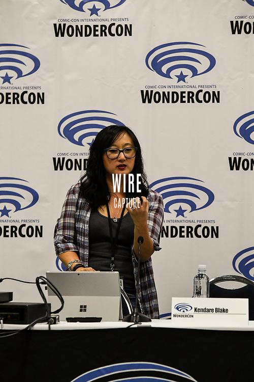 Kendare Blake at Wondercon in Anaheim Ca. March 31, 2019