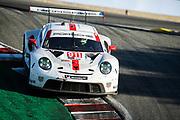 October 30-Nov 1, 2020. IMSA Weathertech Raceway Laguna Seca: #911 Porsche GT Team Porsche 911 RSR, GTLM: Nick Tandy, Fred Makowiecki