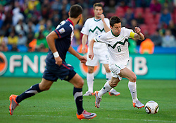 Robert Koren of Slovenia during the 2010 FIFA World Cup South Africa Group C match between Slovenia and USA at Ellis Park Stadium on June 18, 2010 in Johannesberg, South Africa. (Photo by Vid Ponikvar / Sportida)