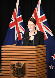 WELLINGTON, March 16, 2019  New Zealand Prime Minister Jacinda Ardern addresses a briefing in Wellington, capital of New Zealand, on March 16, 2019. Jacinda Ardern reiterated to the public on Saturday morning that the country's gun law will be changed. Gunmen opened fire in two separate mosques in Christchurch on Friday, killing 49 people and wounding 48 others. (Credit Image: © Xinhua via ZUMA Wire)