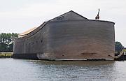 Life sized replica of Noah's ark tourist attraction, Dordrecht, Netherlands