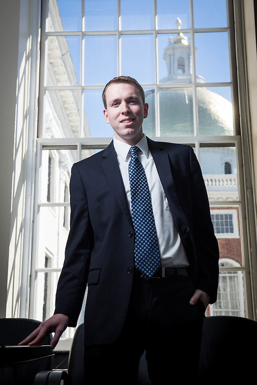 Massachusetts Assistant Budget Director James LeBlanc photographed at the Statehouse.