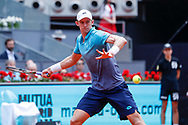 Kevin Anderson of South Africa in action during the Mutua Madrid Open 2018, tennis match on May 11, 2018 played at Caja Magica in Madrid, Spain - Photo Oscar J Barroso / SpainProSportsImages / DPPI / ProSportsImages / DPPI