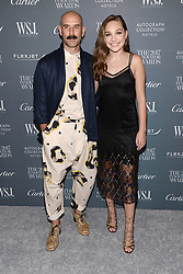 (L-R) Dancers Ryan Heffington and Maddie Ziegler attend the WSJ. Magazine 2017 Innovator Awards at MOMA in New York, NY, on November 1, 2017. (Photo by Anthony Behar/Sipa USA)