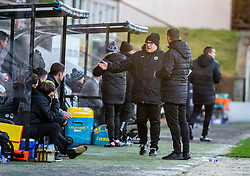 Partick Thistle's manager Ian McColl. Dunfermline 5 v 1 Partick Thistle, Scottish Championship game played 30/11/2019 at Dunfermline's home ground, East End Park.