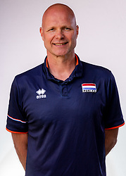 Coach Marko Klok of Netherlands, Photoshoot selection of Orange women's youth volleybal team season 2021on june 15, 2021 in Arnhem, Netherlands (Photo by RHF Agency/Ronald Hoogendoorn)
