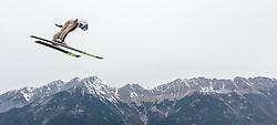 02.01.2016, Bergisel Schanze, Innsbruck, AUT, FIS Weltcup Ski Sprung, Vierschanzentournee, Training, im Bild Radik Zhaparov (KAZ) // Radik Zhaparov of Kazakhstan during his Practice Jump for the Four Hills Tournament of FIS Ski Jumping World Cup at the Bergisel Schanze, Innsbruck, Austria on 2016/01/02. EXPA Pictures © 2016, PhotoCredit: EXPA/ JFK