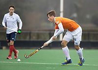 BLOEMENDAAL - Hockey.  Jorrit Croon (Bldaal) Bloemendaal HI-Tilburg HI, oefenwedstrijd.    COPYRIGHT  KOEN SUYK