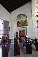Iglesia San Fulgencio de Gibara in Holguin, Cuba.
