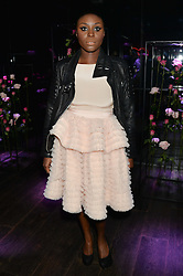 LAURA MVULA at the Lancôme pre BAFTA party held at The London Edition, 10 Berners Street, London on 14th February 2014.