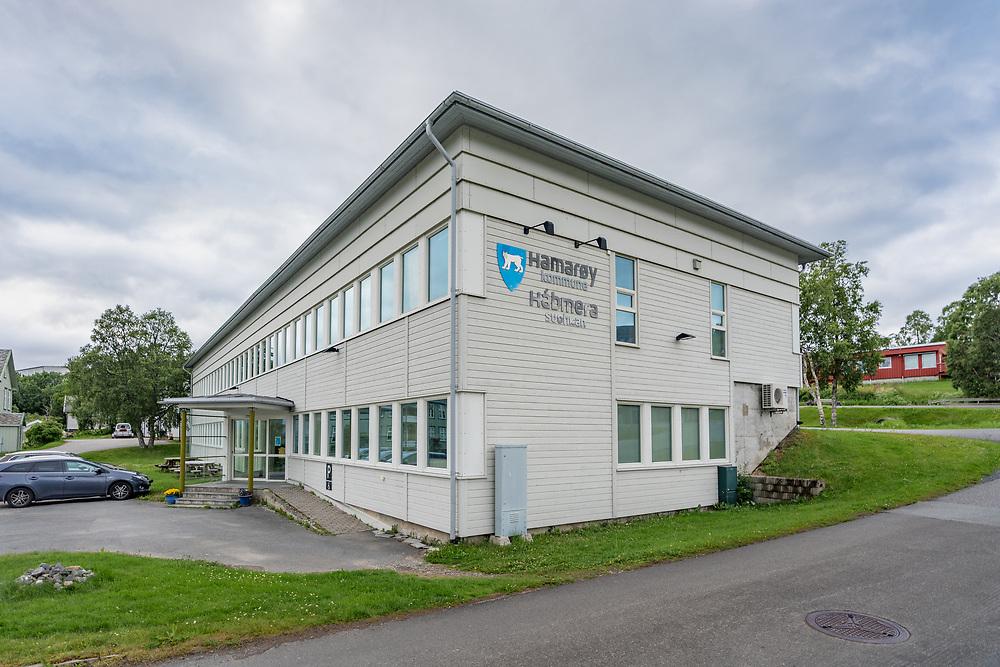 Hamarøy, på lulesamisk Hábmer, er en kommune i Salten i Nordland. Kommunehuset ligger i administrasjonssenteret Oppeid.
