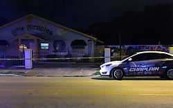August 7, 2017 - Orlando, Florida, USA - The Little Miracles Academy day care at 900 Plymouth Ave. in Orlando where Myles K. Hill, 3, was found dead in the back of a van late Monday, Aug. 7, 2017. (Krista Torralva / Orlando Sentinel)<br />** LEESBURG OUT, LADY LAKE OUT , DAYTONA BEACH NEWS JOURNAL OUT , TV OUT, MAGS OUT, NO SALES  (Credit Image: © Krista Torralva/TNS via ZUMA Wire)