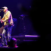 Singer Corey Smith performs during the True Believers Tour concert at the CFE Arena on the University of Central Florida campus, on Thursday, April 24, 2014, in Orlando, Florida.  (AP Photo/Alex Menendez)