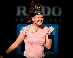 December 30, 2018 - Brisbane, AUSTRALIA - Marie Bouzkova of the Czech Republic in action during qualifications at the 2019 Brisbane International WTA Premier tennis tournament (Credit Image: © AFP7 via ZUMA Wire)