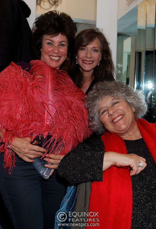 London, United Kingdom - 2 September 2009.Comedienne Ruby Wax and actresses Belinda Lang and Miriam Margolyes performing at gay bar the Royal Vauxhall Tavern, Vauxhall, London, England, UK on 2 September 2009..(photo by: EDWARD HIRST/EQUINOXFEATURES.COM).Picture Data:.Photographer: EDWARD HIRST.Copyright: ©2009 Equinox Licensing Ltd. +448700 780000.Contact: Equinox Features.Date Taken: 20090902.Time Taken: 215216+0000.www.newspics.com