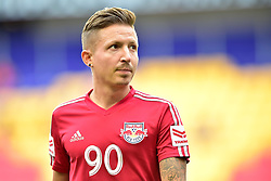 September 22, 2018 - Harrison, New Jersey, USA - New York Red Bulls Midfielder MARC RZATKOWSKI (90) is seen prior to the match at Red Bull Arena in Harrison New Jersey New York defeats Toronto 2 to 0 (Credit Image: © Brooks Von Arx/ZUMA Wire)