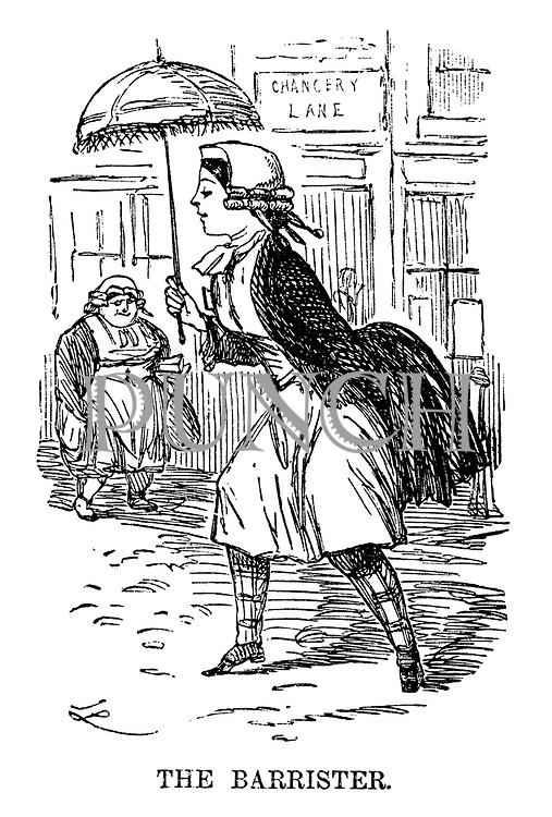 The Ladies of the Creation; Or, how I was cured of being a strong-minded woman. The Barrister.