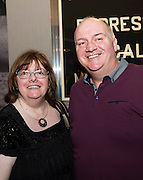 03/11/2016 Repro fee: Rita Gilligan's book The Rock 'n' Roll Waitress from The Hard Rock Cafe My Life in Hotel Meyrick, Galway was launched my Cllr. Noel Larkin Mayor of Galway. At the launch were Caroline and Eugene Kelly from Leitrim   Photo :Andrew Downes, XPOSURE