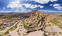Aerial view of Cappadocia, Turkey