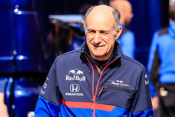 February 19, 2019 - Montmelo, BARCELONA, Spain - Franz Tosts Team Chief of Scuderia Toro Rosso Honda in action during the Formula 1 2019 Pre-Season Tests at Circuit de Barcelona - Catalunya in Montmelo, Spain on February 19. (Credit Image: © AFP7 via ZUMA Wire)