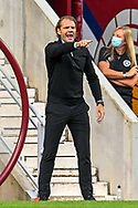 Heart of Midlothian manager Robbie Neilson during the Cinch SPFL Premiership match between Heart of Midlothian FC and Celtic FC at Tynecastle Park, Edinburgh, Scotland on 31 July 2021.