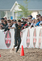 Timberman Sprint competition at Ellacoya State Park in Gilford, NH  August 20, 2011.