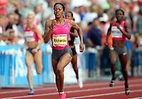 Friidrett , 3. juli 2009 , Golden League , Bislett Games , <br /> <br /> Sanya Richards , winner 400 metres