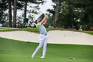 Danny Willett (ENG) on the 3rd tee during the 1st round at the The Masters , Augusta National, Augusta, Georgia, USA. 11/04/2019.<br /> Picture Fran Caffrey / Golffile.ie<br /> <br /> All photo usage must carry mandatory copyright credit (© Golffile | Fran Caffrey)