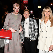 Lewis-Duncan Weedon, John Galea and Victoria Brown attend TMA Talent Management Group host launch party for their new dating app, The List at 100 Wardour Street  on 3rd April 2019, London, UK.
