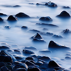Pre-dawn surf, Rye Harbor State Park, New Hampshire.