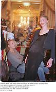 Jemma Kidd and Jodie Kidd backstage at Bella Freud's fashion show. Cafe Royal. London 23 February 1998. film 9849f13<br />© Copyright Photograph by Dafydd Jones<br />66 Stockwell Park Rd. London SW9 0DA<br />Tel 0171 733 0108