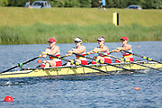 Race: 92  Event: Women's Quad Sculls - Championship - Heat<br /> <br /> National Schools Regatta 2018<br /> Sunday<br /> <br /> To purchase this photo, or to see pricing information for Prints and Downloads, click the blue 'Add to Cart' button at the top-right of the page. The Metropolitan Regatta 2018 The Metropolitan Regatta 2018