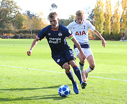 November 6, 2018 - London, England, United Kingdom - Enfield, UK. 06 November, 2018.Andrew Antonio Mendonga of PSV Eindhoven.during UEFA Youth League match between Tottenham Hotspur and PSV Eindhoven at Hotspur Way, Enfield. (Credit Image: © Action Foto Sport/NurPhoto via ZUMA Press)