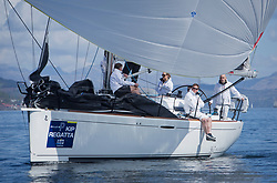 Lights winds dominated the Pelle P Kip Regatta  at Kip Marine weekend of 12/13th May 2018<br /> <br /> GBR3627L, Animal, Kevin Aitken, CCC/RNCYC, First 36.7<br /> <br /> Images: Marc Turner