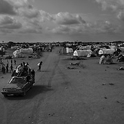 New refugees seen arriving at the Dagahaley refugee camp in the Dadaab refugee camp in northeastern Kenya. Hundreds of thousands of refugees are fleeing lands in Somalia due to severe drought and arriving in what has become the world's largest refugee camp. Photo: Sanjit Das/Panos