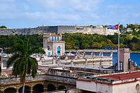HAVANA, CUBA - CIRCA JANUARY 2020: Rooftops in Havana