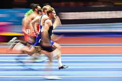 March 2, 2018 - Birmingham, Gangwon, United Kingdom - Kevin Mayer ofFrance at 60m Heptathlon at World indoor Athletics Championship 2018, Birmingham, Englandon March 2, 2018. (Credit Image: © Ulrik Pedersen/NurPhoto via ZUMA Press)