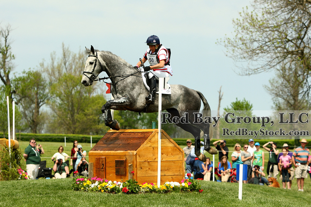 Mary King and Fernhill Urco at the 2011 Rolex Kentucky Three-Day Eventing in Lexington, KY.