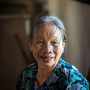 Smiling Vietnamese woman in Hue