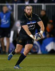 Bath Rugby's Tom Dunn during the European Rugby Champions Cup, Pool Five match at the Recreation Ground, Bath
