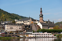 Cochem on Mosel River in Rheinland-Palatinate Germany