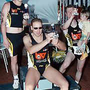 Triathlon 1999, pijswinnaars trio's