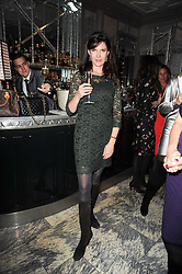 RONNI ANCONA at a dinner hosted by Ruinart in honour of Amanda Wakely at The Connaught, Carlos Place, London on 20th October 2010.