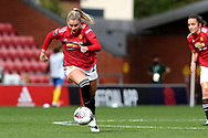 Manchester United forward Alessia Russo (23) during the FA Women's Super League match between Manchester United Women and Brighton and Hove Albion Women at Leigh Sports Village, Leigh, United Kingdom on 4 October 2020.