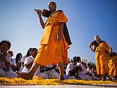 Monks Mass Pilgrimage